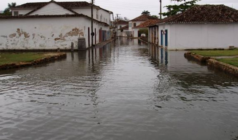 Paraty Flooded Streets, in Brazil