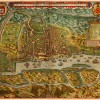Goa, India, 1596, Linschoten map