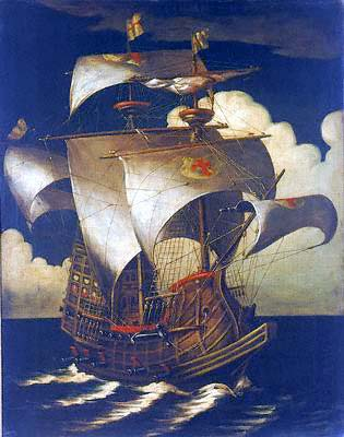 portuguese-galleon