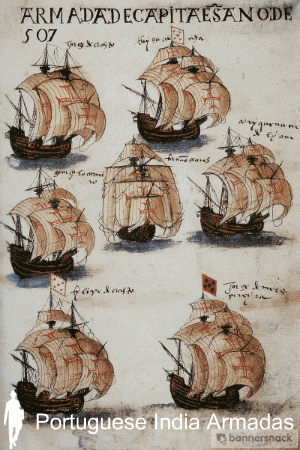 The Portuguese India armadas (armadas da Índia) were the fleets of ships