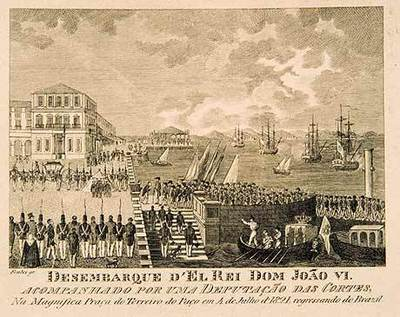 arrival-king-to-lisbon-in-1821