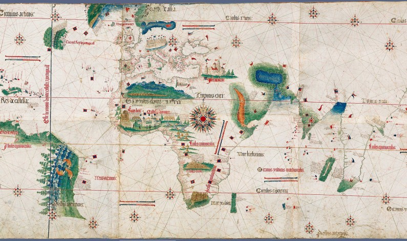 The Cantino Planisphere, 1502